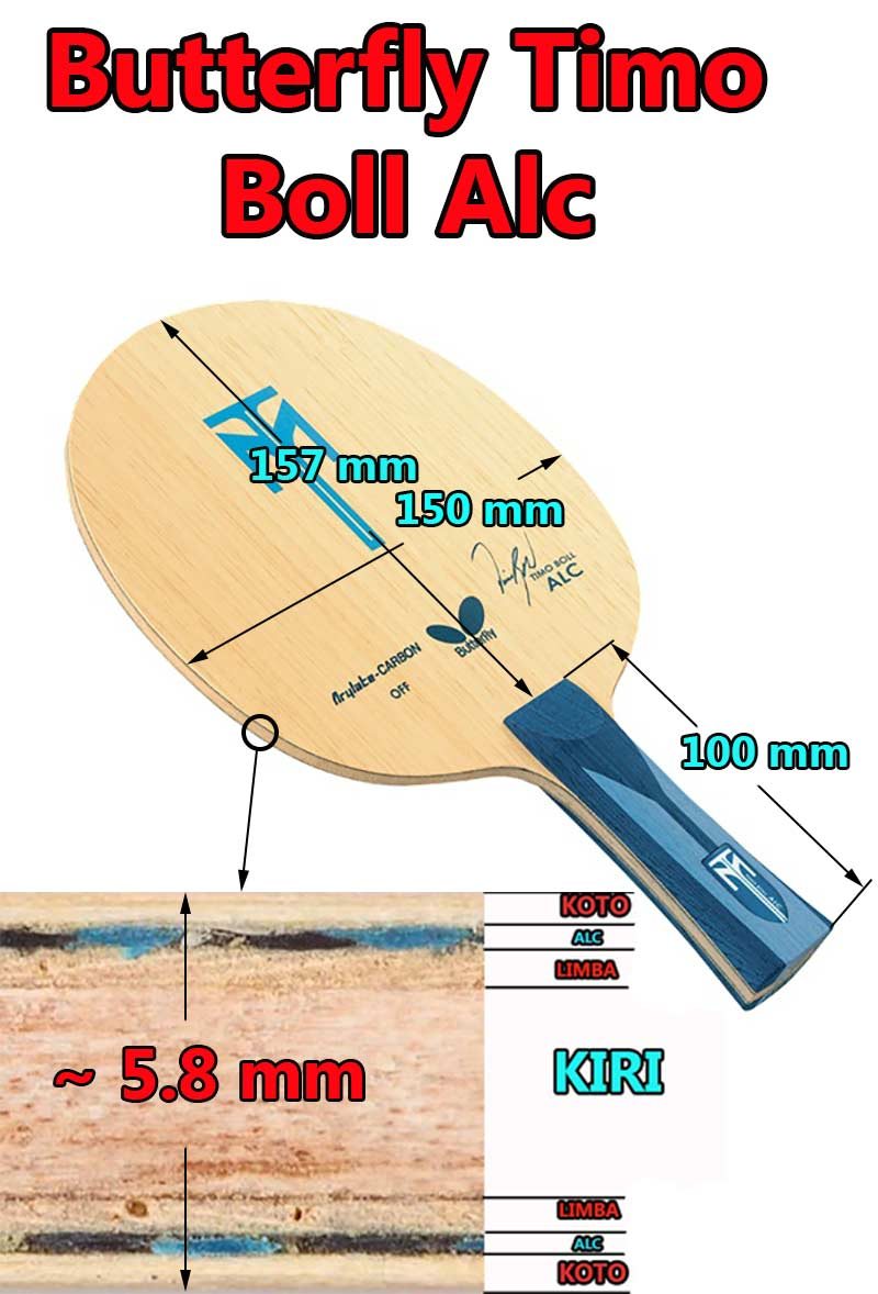 Butterfly timo boll alc table tennis blades - Butterfly table tennis official website ...