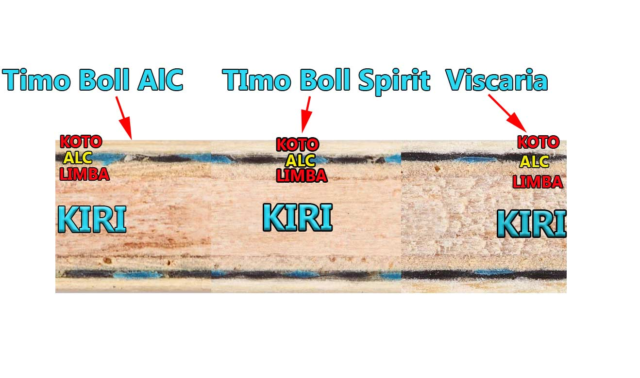 Timo Boll Alc vs Timo Boll Spirit vs Viscaria
