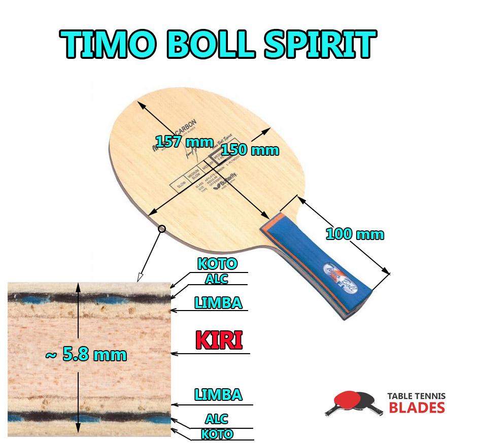Timo Boll Spirit